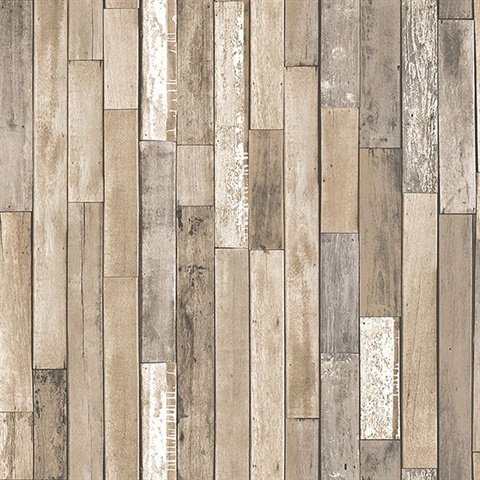 Barn Board Brown Thin Plank