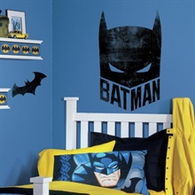 Batman Mask Giant Wall Graphic