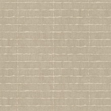 Batna Taupe Brick Wallpaper