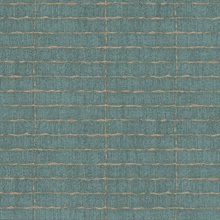 Batna Teal Brick Wallpaper