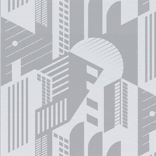 Bauhaus - Concrete colourway wallpaper
