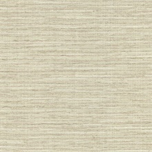 Bay Ridge Taupe Faux Grasscloth