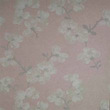 Bebe Light Pink Blossom Wallpaper