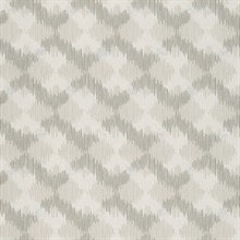 Bechar Champagne Geometric Wallpaper
