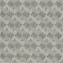 Bechar Grey Geometric Wallpaper