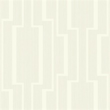 Beige Abstract Geometric Lines Wallpaper