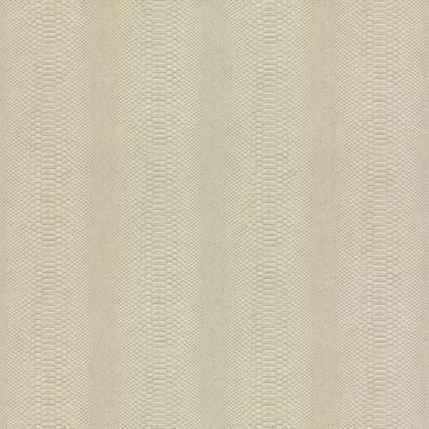 Beige Cobra Snakeskin Wallpaper
