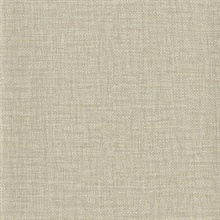 Beige Faux Wire Cloth Textured Wallpaper