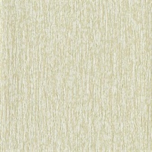 Beige & Gold Faux Birch Tree Bark Textured Wallpaper