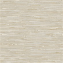 Beige Grey Faux Grasscloth