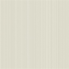 Beige Linen Strie Wallpaper