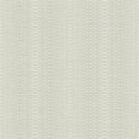 Beige Market Farmhouse Country Stripe Wallpaper
