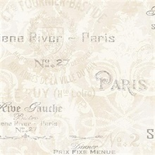 Beige Melina Labels