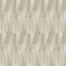 Beige On An Angle Geometric Wallpaper