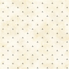 Beige Paw Print Wallpaper