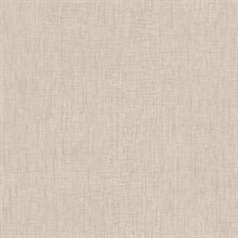 Beige Threaded Silk Wallpaper