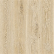 Beige Wood Plank Wallpaper (20 Oz Type II Fabric Backed Vinyl)