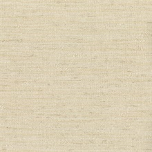 Bennie Beige Faux Grasscloth Wallpaper