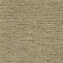 Bennie Brown Faux Grasscloth Wallpaper