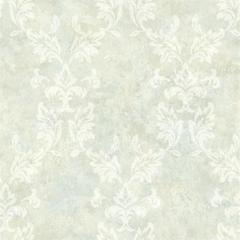 Bentley Mint Damask Wallpaper