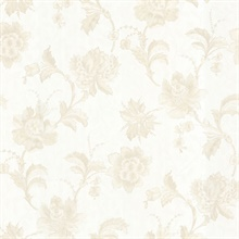 Benvolio Cream Floral Trail