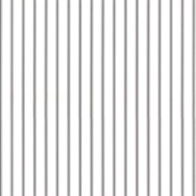 Black and White Ticking Stripe Prepasted Wallpaper