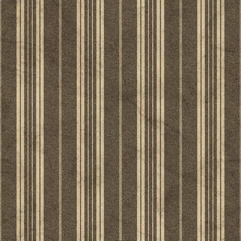Black Farmhouse Stripe Wallpaper