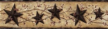 Black Heritage Tin Star Border