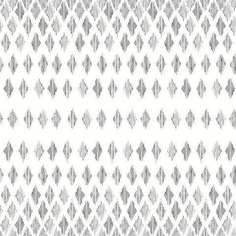 Fh4041 Black White Diamond Ombre Wallpaper
