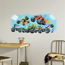 Blaze & Friends Giant Wall Graphic