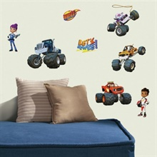 Blaze & the Monster Machines Peel and Stick Wall Decals