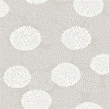 Blithe Taupe Floral