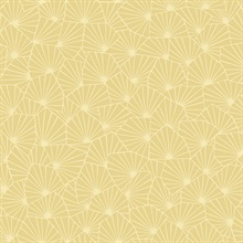 Blomma Yellow Geometric