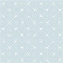 Blue Disney Mickey Mouse Argyle Wallpaper