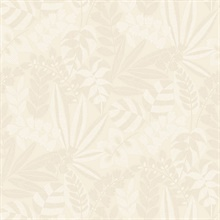 Botanica Cream Wallpaper