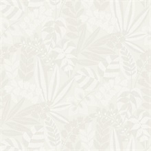 Botanica Light Grey Wallpaper