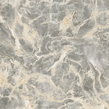 Botticino Grey Marble Wallpaper