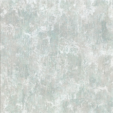 Bovary Teal Distressed Texture Wallpaper