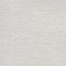 Bravos Light Grey Faux Grasscloth
