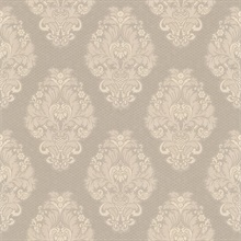 Bromley Pewter Satin Damask