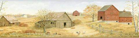 Brown Farmstead Border