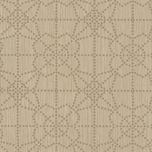 Brown Gilded Dots Wallpaper