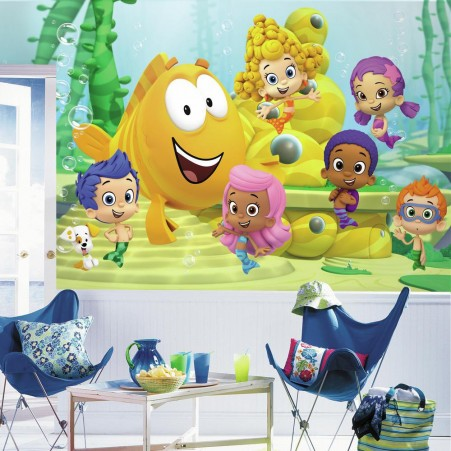 Bubble Guppies XL Wallpaper Mural 10.5' x 6'