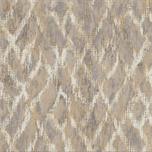 Bunter Taupe Distressed Geometric Wallpaper