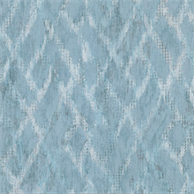 Bunter Turquoise Distressed Geometric Wallpaper