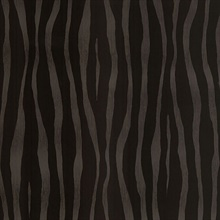 Burchell Chocolate Zebra Velvet Textured Wallpaper