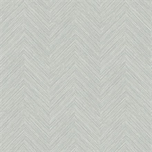 Caladesi Grey Faux Textured Linen Wallpaper