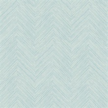 Caladesi Teal Faux Textured Linen Wallpaper