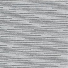 Calloway Dark Grey Horizontal Stripes Commercial Wallpaper