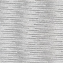 Calloway Grey Horizontal Stripes Commercial Wallpaper